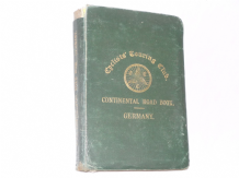 Cyclists' Touring Club. Continental  Road Book - Germany (Goodworth 1898)